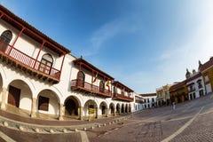 Cartagena-Piazza Lizenzfreie Stockfotografie