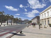 Cartagena, port area Stock Image