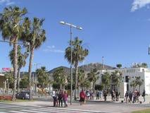 Cartagena, port area Stock Photos
