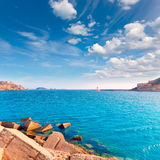 Cartagena port in Murcia at Mediterranean Spain Royalty Free Stock Photo