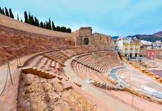 Cartagena Romański amfiteatr w Murcia Hiszpania Fotografia Stock