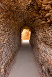 Cartagena Roman Amphitheater corridor in spain Royalty Free Stock Photography