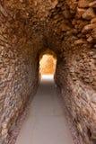 Cartagena Roman Amphitheater corridor in spain Royalty Free Stock Photography