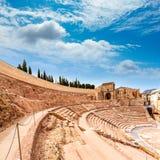 Cartagena Roman Amphitheater in Murcia Spain Stock Photography