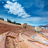 Cartagena Roman Amphitheater in Murcia Spain Royalty Free Stock Image