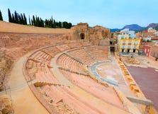 Cartagena Roman Amphitheater in Murcia Spain Stock Photo