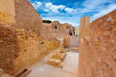 Cartagena Roman Amphitheater in Murcia Spain Royalty Free Stock Photo