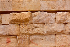 Cartagena Roman Amphitheater in Murcia Spain Stock Image