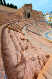 Cartagena Roman Amphitheater in Murcia Spain Royalty Free Stock Photo