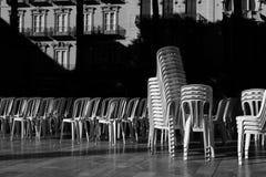 Cartagena San Francisco Square fotografia de stock