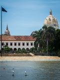 Cartagena Scene Royalty Free Stock Photography
