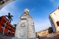 Cartagena-Skulptur Lizenzfreies Stockbild