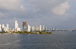 Cartagena skyline Colombia Royalty Free Stock Images
