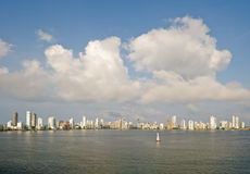 Cartagena skyline Colombia Royalty Free Stock Image