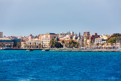 Cartagena skyline Murcia at Mediterranean Spain Stock Images