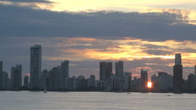 Cartagena Skyscapers stock footage
