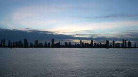 Cartagena Skyscapers stock video footage