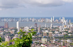 Cartagena-Stadt lizenzfreie stockfotos