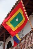 Cartagena stanu flaga Zdjęcie Royalty Free