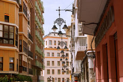 Cartagena stara grodzka ulica Fotografia Stock