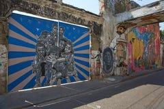 Cartagena Street Art Stock Image