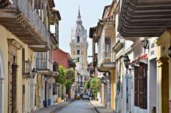 Cartagena Street Stock Image