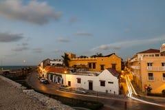 Cartagena w wieczór Fotografia Royalty Free