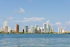 Cartagena waterfront Royalty Free Stock Photography
