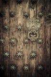 cartagena zamkniętych Colombia drzwi stary up fotografia royalty free