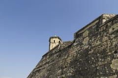 Cartagena zegarka wierza fotografia royalty free