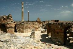 Cartagina in Tunisia. Cartagina ruins - monument in Tunisia royalty free stock photos