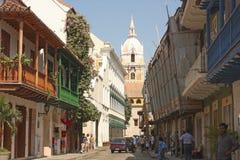 Cartagine de Indias, Colombia fotografia stock
