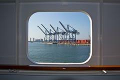 Cartagine, porto Fotografia Stock