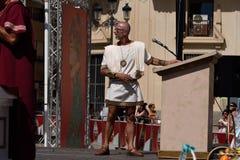 CARTAGINESES Y FIESTA DE LOS ROMANOS foto de archivo libre de regalías