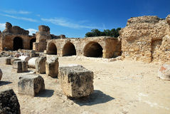 Cartago en Túnez Fotos de archivo libres de regalías