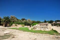 Cartago en Túnez Foto de archivo