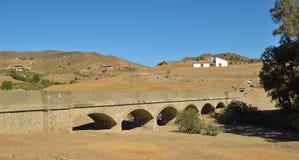 Cartama Aqueduct Royalty Free Stock Photography