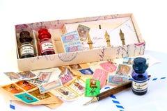 Cartas con memorias Fotos de archivo libres de regalías