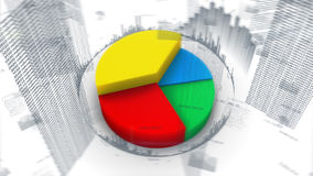 Cartas, datos y gráficos de barra stock de ilustración