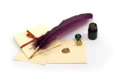 Cartas de amor Imágenes de archivo libres de regalías