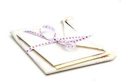 Cartas de amor fotos de archivo libres de regalías