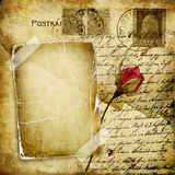 cartas de amor Fotografía de archivo libre de regalías