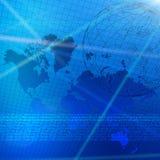 Cartas de color financieras globales libre illustration