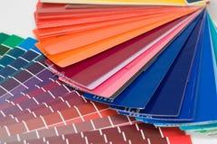 Cartas de cor Fotos de Stock