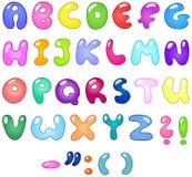 Cartas de la burbuja ilustración del vector