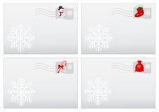 Cartas de la Navidad Fotografía de archivo libre de regalías