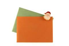 Cartas de la Navidad Foto de archivo