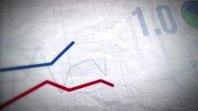 Cartas de negocio cada vez mayor ilustración del vector
