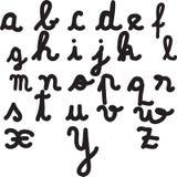 Cartas del alfabeto Fotos de archivo libres de regalías