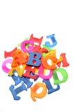 Cartas del alfabeto Fotografía de archivo libre de regalías